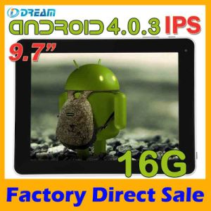 Tablet PC - 9.7inch Android 4.1 Dual Core 1.6g Hz CPU (IDREAM M974)