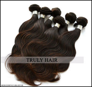 """100% Mongolian Remy Virgin Human Hair Extension, Body Wave, 12""""-30"""", Natural Color"""
