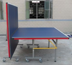 Double-Folding Table Tennis Table (TE-02C) pictures & photos