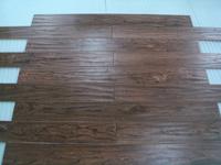 Handscraped Walnut Floor