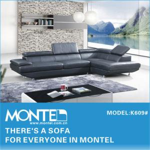 Sofa, Modern Leather Sofa, Sectional Sofa (K609)