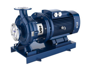 Single Stage Single Suction Horizontal Electrical Pipeline Pump with Ce Certificate pictures & photos