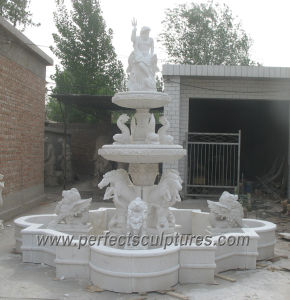 Outdoor Marble Water Pool Fountain for Garden Stone (SY-F345) pictures & photos