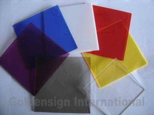 Colorful Acrylic Best Transparent PMMA Glass Sheet pictures & photos