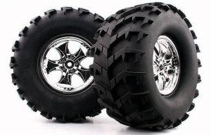1/8 Monster Truck Tire ( Cutter / Big Fangs) (WC1014)