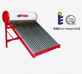 Solar Water Heater Vacuum Tube Unpressurized (SPC) pictures & photos