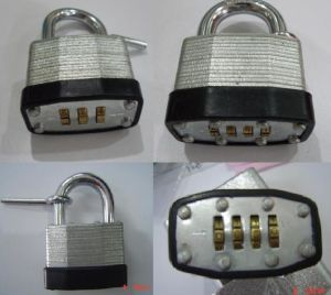 Combination Laminated Padlock (1504) pictures & photos