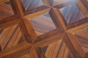 Laminated Parquet Wooden Flooring-HDF--Lydl32 pictures & photos