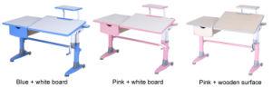 Intelligent Adjustable Height Desktop Tilting Children Desk Hya-102 pictures & photos