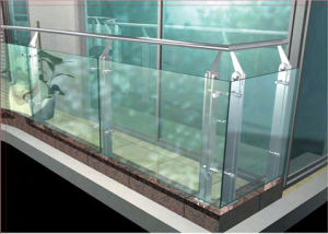 Guangzhou Customized Stainless Steel Glass Balustrade pictures & photos
