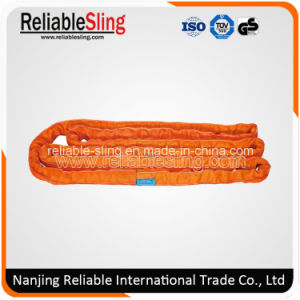 Polyester Endless Round Soft Webbing Sling with Duplex Outer Sleeve pictures & photos