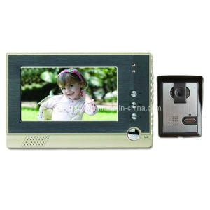7 Inch Digital HD Color Video Door Phone with Outdoor IR Nightvision 600tvl Camera (RX-709C1)