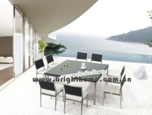 Stainless Steel Outdoor Patio Wick Rattan Furniture (BP-312) pictures & photos