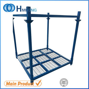 Warehouse Foldable Steel Stacking Tire Rack Storage System pictures & photos