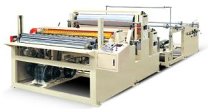 Tissue Paper Cutting Machine, Further Processing Machine, Making Small Paper Roll pictures & photos