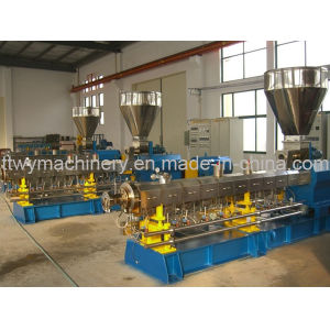 Twin Conical Screw Extruder, Plastic Extruder with SGS/CE Certificate pictures & photos