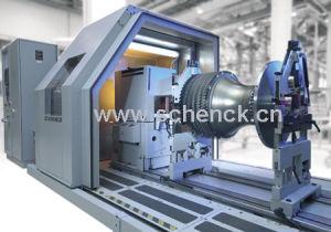 Horizontal Balancing Machine for the Aircraft Industry-Schenck Balancing Machines (HL)