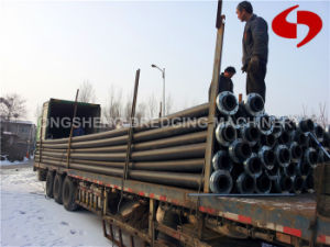 Discharge HDPE Pipe Rubber Hose pictures & photos