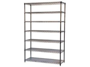 Chrome Plated 7 Layers Wire Shelving pictures & photos
