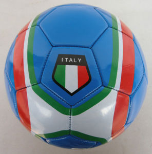 World Cup Soccer Ball, PVC Leather Machine-Sewn Soccerball Size 5 pictures & photos