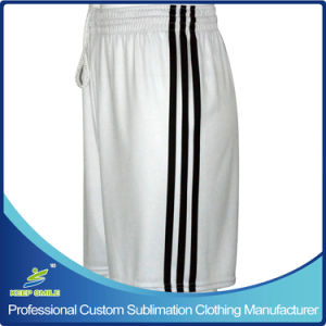 Quicky Dry Polyester Custom Made Sublimation Lacrosse Sports Shorts for Team pictures & photos