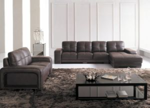 Leather Sofa (D119) pictures & photos