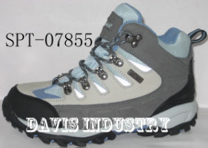 Best New Design Hiking Trekking Outdoor Shoes and Boots Waterproof (SPT-07855) pictures & photos