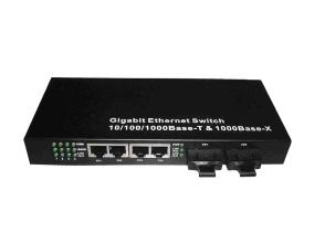 1000m 2-Port Fx and 4-Port Tx Fiber Switch, Fiber Ethernet Switch