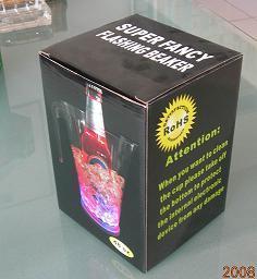 LED Flashing Beaker (QBM-026) pictures & photos