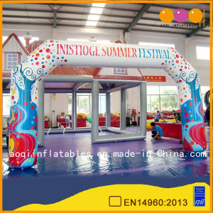 Colorful Customize PVC Festival Arch (AQ7427-1) pictures & photos