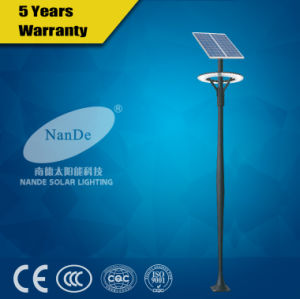 Aluminium Alloy Lamppost LED Solar Lights for Garden pictures & photos