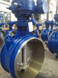Casting Steel Hard Sealing Welding Butterfly Valve pictures & photos
