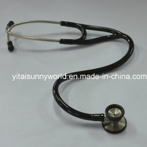 Cardiology Stainless Steel Stethoscope for Adult (SW-ST18) pictures & photos