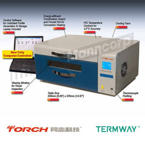 SMT Desktop Leadfree Reflow Oven with Temperature Testing pictures & photos