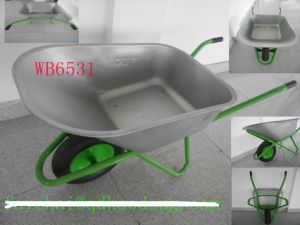 Wheel Barrow Wb6531, Deep Tray, Russia Market