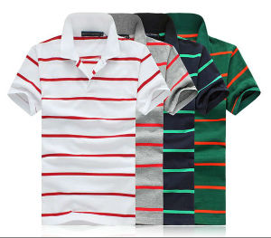 Plain Chinese Trim Collar Polo Shirts pictures & photos