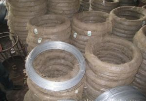 Galvanized Steel Wire of 2.8mm 3.8mm Thickness for Making Wire Hangers pictures & photos