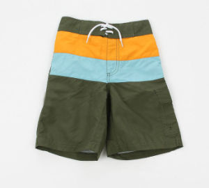 Men′s Beach Short, 100% Polyester Mirco Fiber and Available in Various Color with Special Print (YD11235)