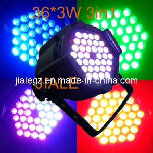 36x3w RGB 3in1 Tri Color LED PAR Can LED DJ Light (JL-3IN1-36)