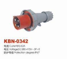 Industrial Plugs and Sockets KBN-0342