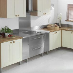 China Stainless Steel Kitchen Cabinet Worktop Splashback