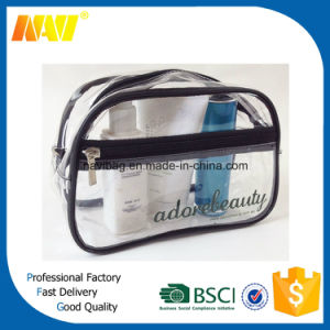 Clear PVC Waterproof Toiletry Bag pictures & photos
