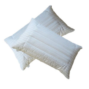 Quilted Pure Organic Cotton Pillow pictures & photos