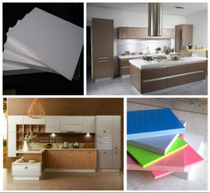 Wood Plastic PE Crust Foam Board Machine pictures & photos