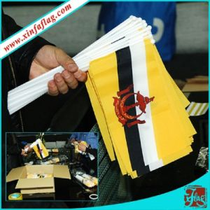 Custom Printed Polyester Hand Flag for Promotion