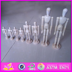 Flexible Human Manikin Doll, Funny Wooden Drawing Manikin, Mannequin Adjustable Doll, Wooden Little Dummy Mannequin Doll W06D041-C pictures & photos