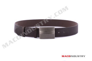 Men′s Genuine Leather Belt with Auto Buckle (Mu25)