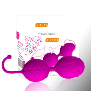 Rose Flower Silicone Kegal Exercise Ben Wa Balls for Women pictures & photos
