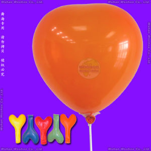 Inflatable Helium Latex Heart Shaped Balloon for Valentines′ Day pictures & photos