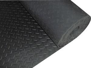 Checker Rubber Sheet, Checker Rubber Mat, Checker Flooring Mat with Black Color pictures & photos